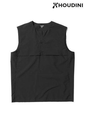 Trail Vest #True Black [258714] _ HOUDINI | フーディニ