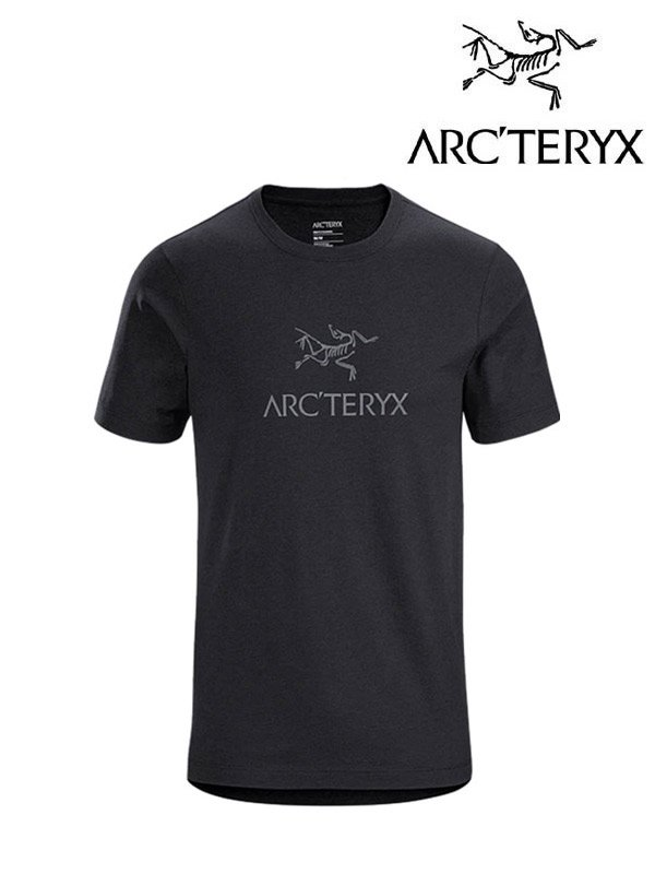 Arc Word T-Shirt #Black Heather [24013][L07316500]