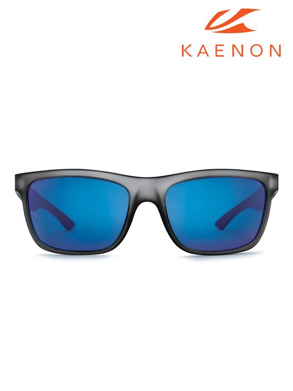 Kaenon|Clarke Carbon Matte+Ultra Grey 12 Pacific Blue Mirror