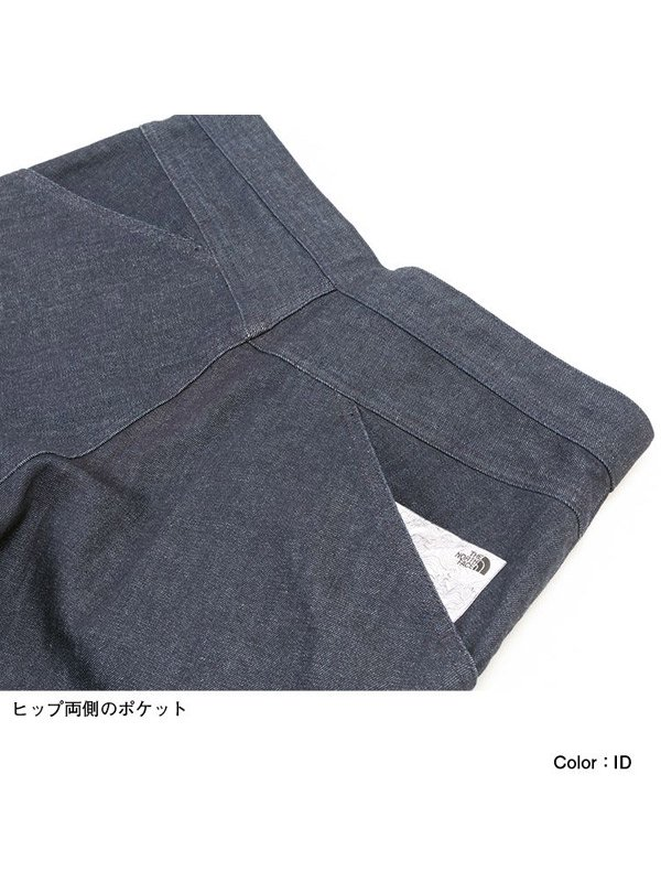 Denim Climbing Baggy Pants #ID [NB32004]
