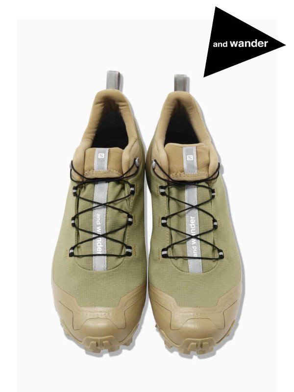 salomon CROSSHIKE for and wander #Beige [5741178426]