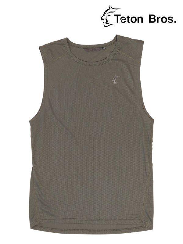 ELV1000 Non Sleeve Tee (Men) #Gray [TB211-47M]