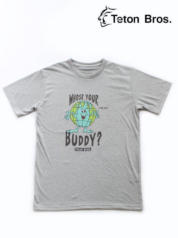 TB Whose Your Buddy Tee #Gray [TB211-34M]