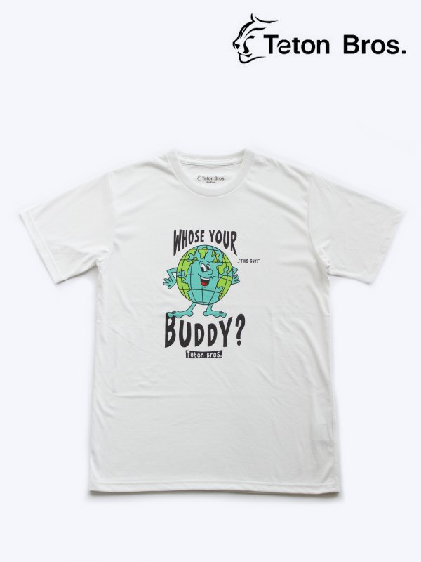 TB Whose Your Buddy Tee #White [TB211-34M]