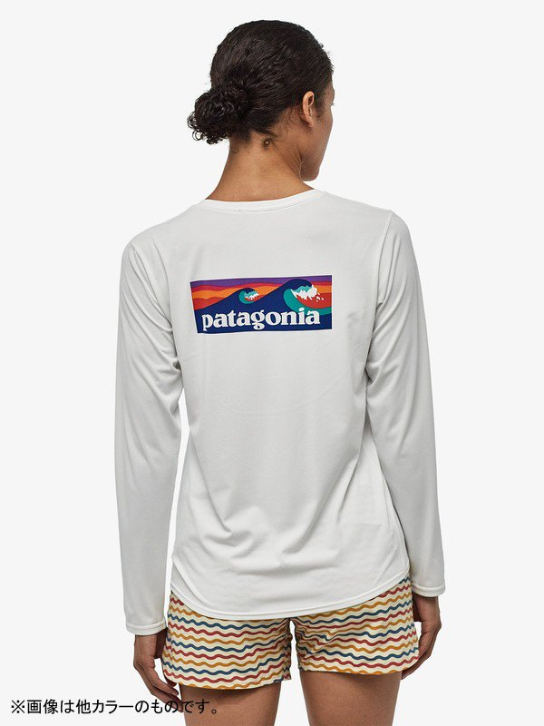 Women's Long Sleeved Capilene Cool Daily Graphic Shirt #FHFG [45205]
