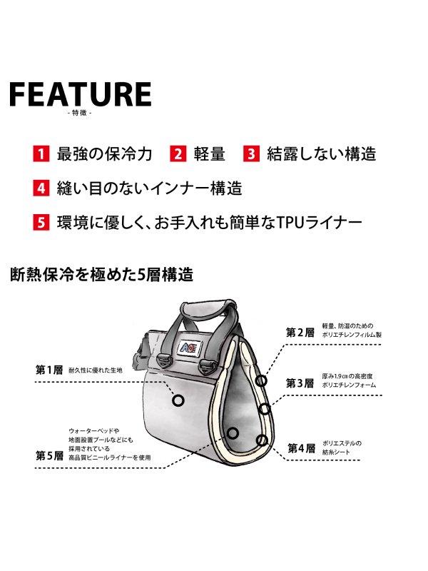 AO Coolers 18パック トランク ソフトクーラー #サンドトープ [AO18TA]