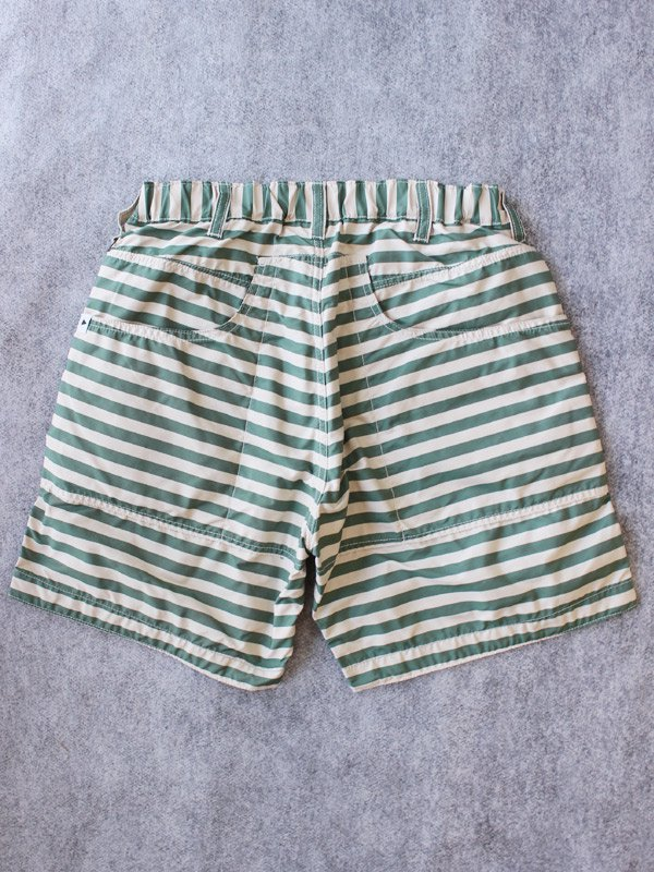取り扱いブランド [ A ] polyester stripe short pants