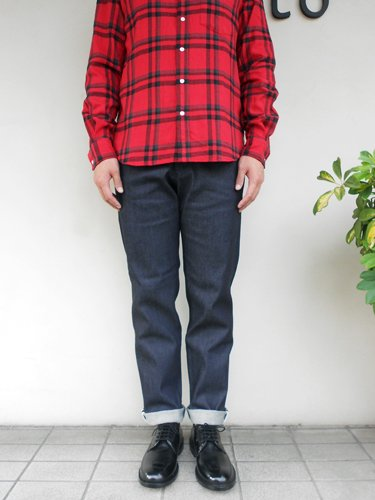 A°CTS 【アクツ】 DENIM TAPERED PANTS / STRETCH (Men's)