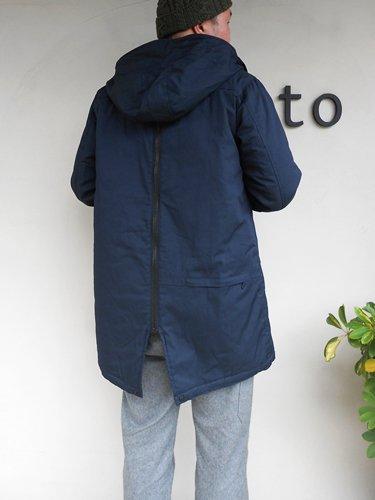 Kelen 【ケレン】 Back Zip Fish Tail Coat (Men's)