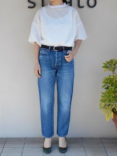 Ordinary Fits 【オーディナリーフィッツ】 5 POCKET ANKLE DENIM BLUE (Ladies')