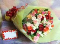 送料無料!プロポーズの花束♥♥ミックスバラ108本