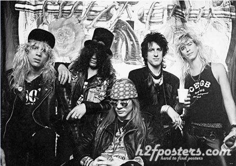 ガンズ・アンド・ローゼズ (Guns N' Roses/GN'R)ポスター55116