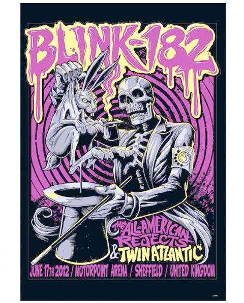 BLINK-182 Music Poster  (J-4869)