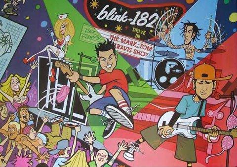 BLINK-182 Music Poster  (J-0817)