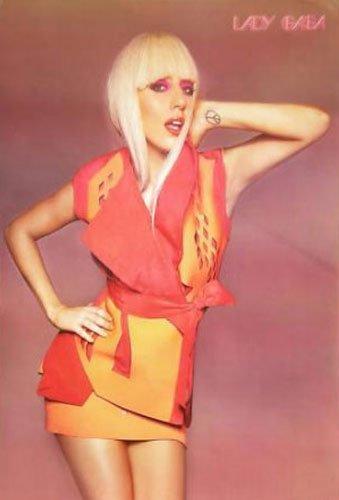 レディー・ガガ(Lady Gaga )ポスター■J-1943