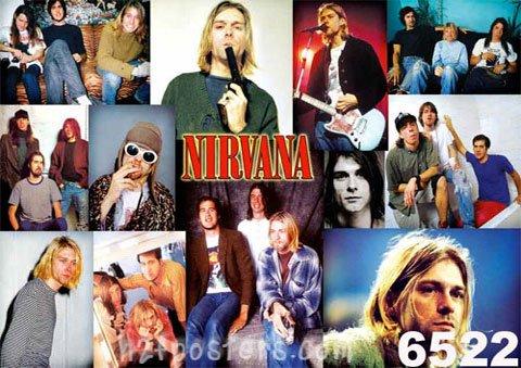 ニルヴァーナ (Nirvana) ポスター■O-6522