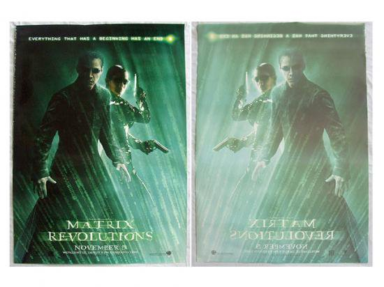 TH original posters  The Matrix Revolutions