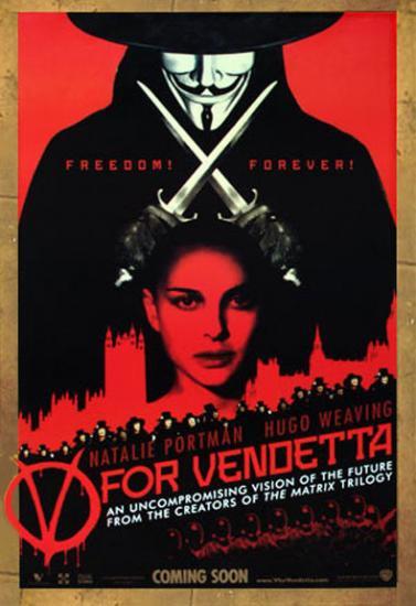 Re-Print posters V for Vendetta [V for Vendetta]