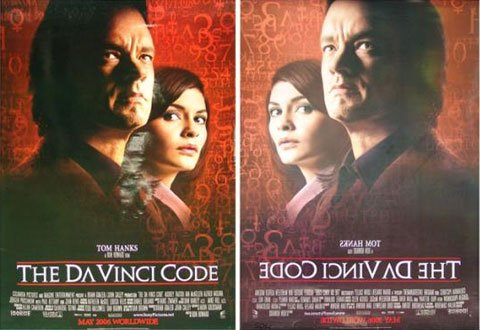 US original posters The Da Vinci Code