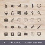 手帳ミニスタンプ 121 − 150