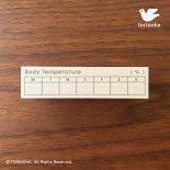 Body Temperature(週の体温・英語版)