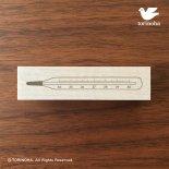 レトロ体温計 スタンプ / シンプルタイプ