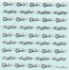 Pieadra ピアドラ ネイル シール  ハワイアンウエーブ シルバー  (メール便OK)<img class='new_mark_img2' src='https://img.shop-pro.jp/img/new/icons50.gif' style='border:none;display:inline;margin:0px;padding:0px;width:auto;' />