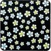 リキュウ ネイルシール   BF−2 ベーシックフラワー(イエロー・ブルー)  (メール便OK)