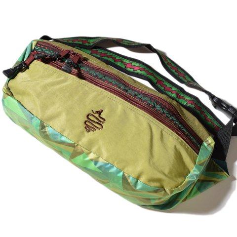 ALDIES/アールディーズ『Zimon Waist Bag』ジモンウエストバッグGreen