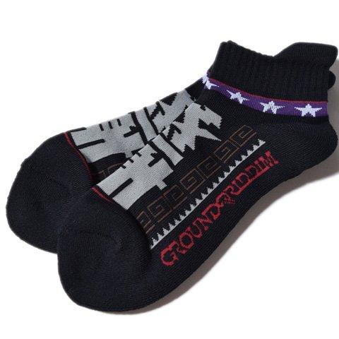 ALDIES×GROUNDRIDDIM『KANSHA Socks』カンシャソックスBlack