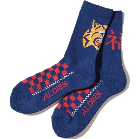 ALDIES/アールディーズ『Souvenir Socks』スーベニアソックスNavy