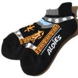 ALDIES/アールディーズ『Souvenir Short Socks』スーベニアショートソックスBlack