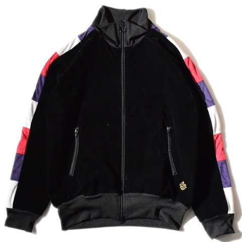 ALDIES/アールディーズ『Maple Track Jacket』メイプルトラックジャケットBlack