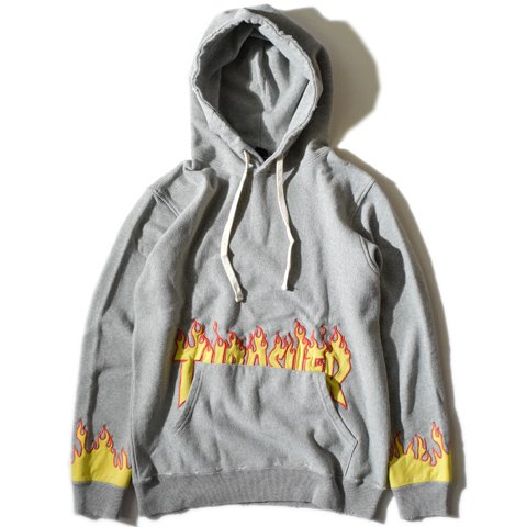 ALDIES/アールディーズ『THRASHER Fire Parka』スラッシャーファイヤーパーカーGray