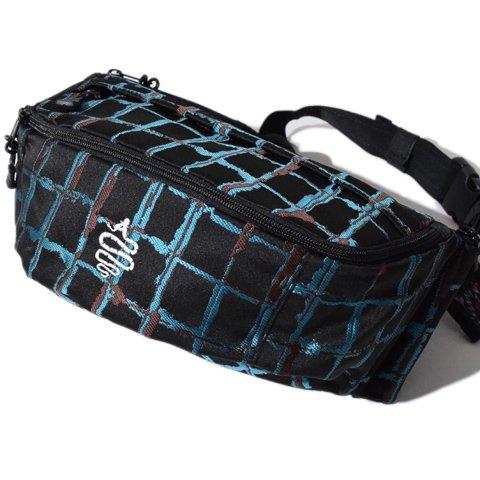 ALDIES/アールディーズ『Multiple Waist Bag』マルチプルウエストバッグBlack
