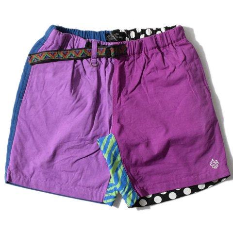 ALDIES/アールディーズ『Climbing Short Pants』クライミングショートパンツPurple
