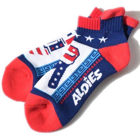 ALDIES/アールディーズ『Piece Socks』ピースソックスWhite