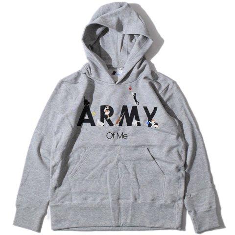 "miraco/ミラコ『ARMY of me(パーカー)』アーミーオブミー""パーカー""Grey"