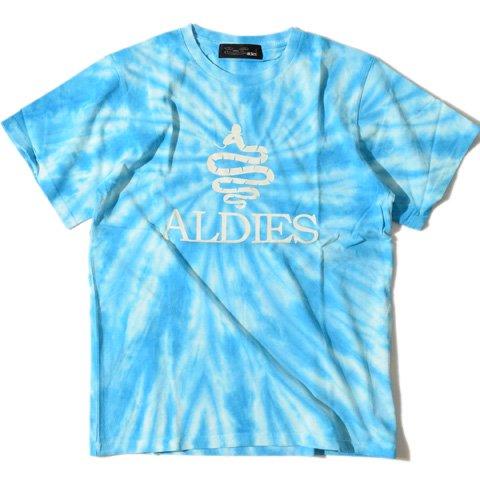 ALDIES/アールディーズ『ALDIES Tie Dye T』アールディーズタイダイTBlue