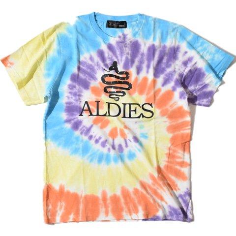 ALDIES/アールディーズ『ALDIES Tie Dye T』アールディーズタイダイTMulti