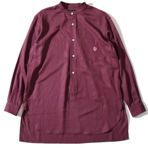 ALDIES/アールディーズ『Calm Shirt』カームシャツBurgundy