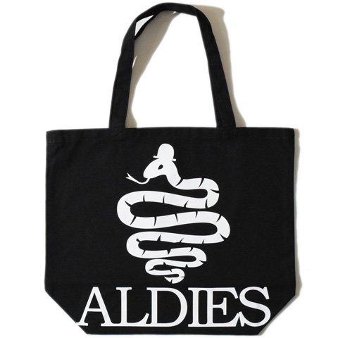 ALDIES/アールディーズ『Aldies Logo Big Tote』アールディーズロゴビッグトートBlack