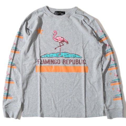 ALDIES/アールディーズ『Flamingo long T』フラミンゴロングTGray