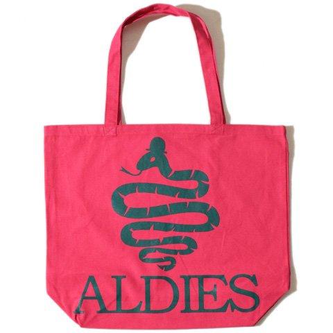 ALDIES/アールディーズ『Aldies Logo Big Tote』アールディーズロゴビッグトートW.Pink