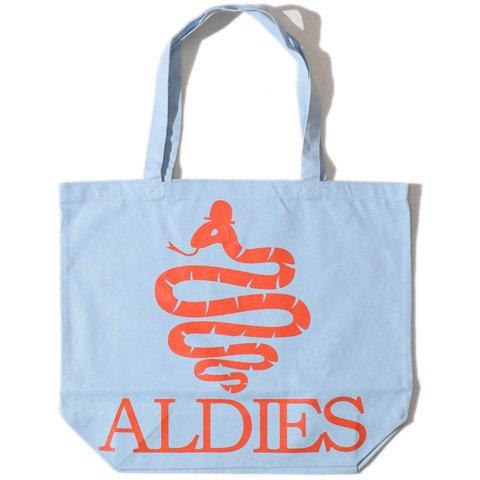 ALDIES/アールディーズ『Aldies Logo Big Tote』アールディーズロゴビッグトートL.Blue