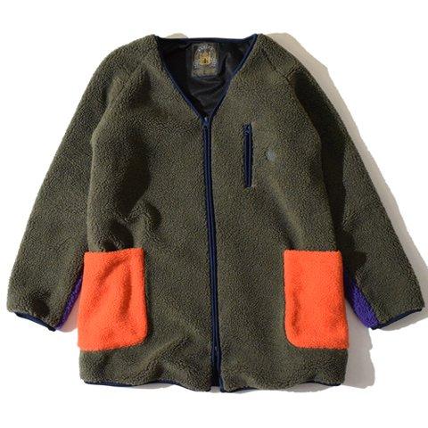 ALDIES/アールディーズ『Feel Boa Coat』フィールボアコートOlive