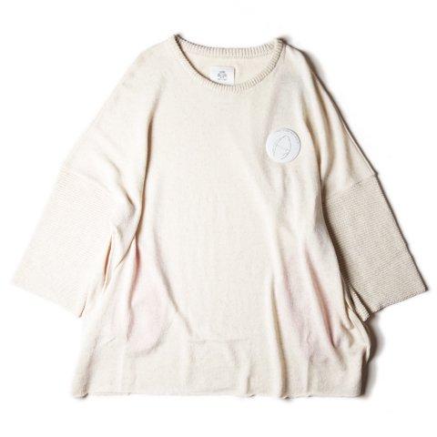 STOF/ストフ『マキシマムニットTシャツ』WHITE
