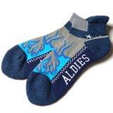 ALDIES/������ǥ�������Fire Socks�٥ե����䡼���å���Gray