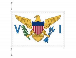 アメリカ領ヴァージン諸島 国旗(卓上旗16×24cm)【メール便対応商品】(納期:受注後10日)