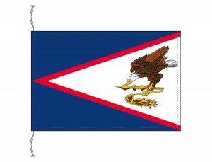 アメリカ領サモア 国旗(卓上旗16×24cm)【メール便対応商品】(納期:受注後10日)